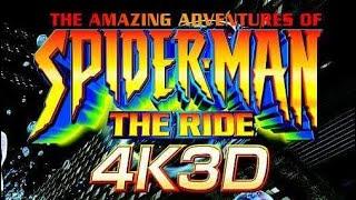 the amazing adventures of spider man the ride 4k3d アメージング アドベンチャー オブ スパイダーマン ザ ライド 4k3d