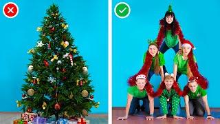 ١٠ طرق مضحكه للتغلب علي الملل خلال اجازات الكريسماس