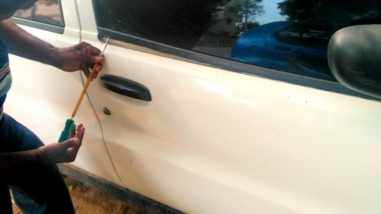 How to open car door without key