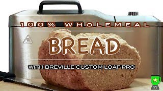 100% Wholemeal Bread with Brev…