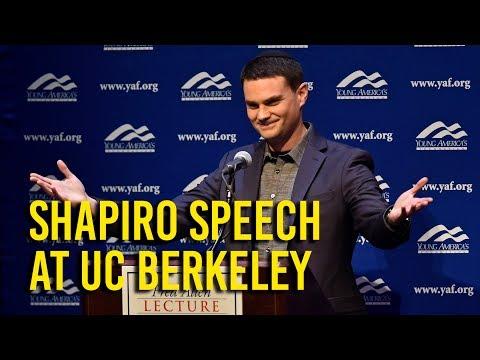 Ben Shapiro speaks at UC Berkeley amid protests