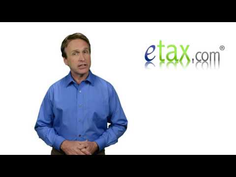 eTax.com Form 1040 Schedules A, B, C, and D