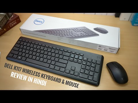 Dell K117 Wireless Keyboard & Mouse Review In Hindi