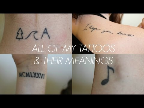 MY TATTOOS & THEIR MEANINGS