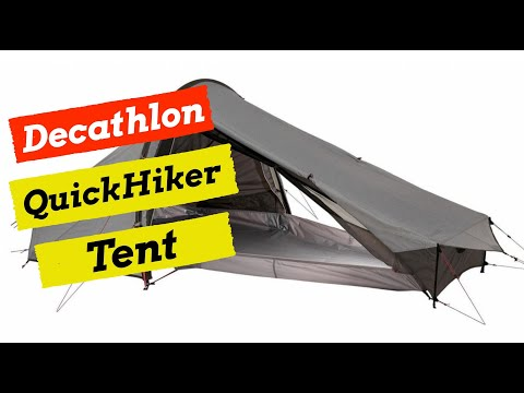 Wild Camping Tent Review - Decathlon - Quechua 'Quick Hiker Ultralight 2'