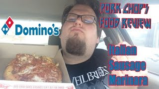 Pork Chop's Food Review: Domino's Italian Sausage Marinara Bread Bowl