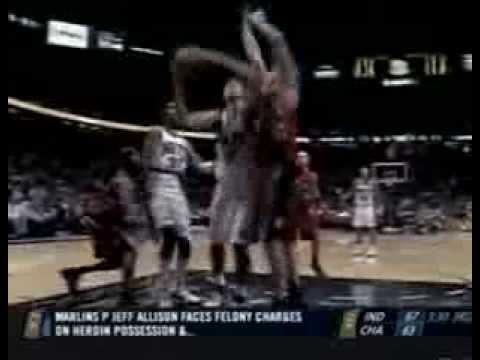 Nenad Krstic vs Raptors (2006-07 NBA regular season)