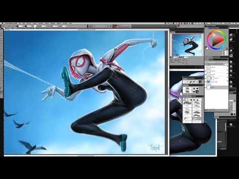 Sculpting and Painting Marvel's Spider Gwen