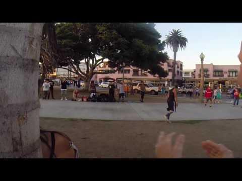 Skillmethodz and Street Dogz (Santa Monica street show)
