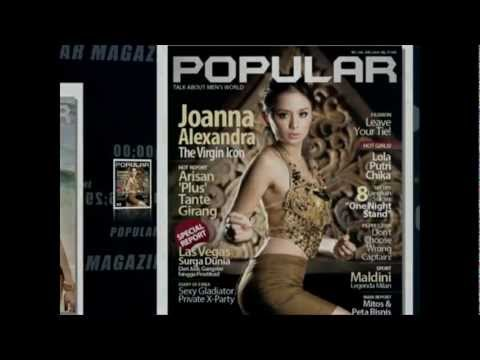 The SEXIER FAMOUS POPULAR MAGAZINE