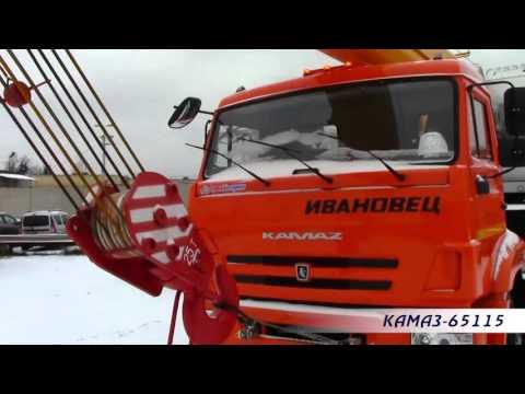 Автокран Ивановец на шасси КАМАЗ 65115