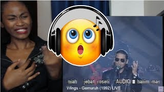 Wings - Gemuruh 1992 LIVE   Reaction