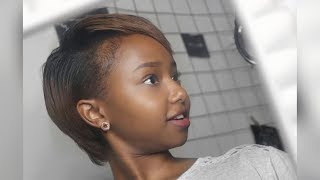 VLOG:THE FIRST CHOP 💇🏽✂ - JOURNEY TO HEALTHY HAIR