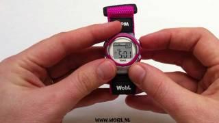 WobL- Alarm instellen
