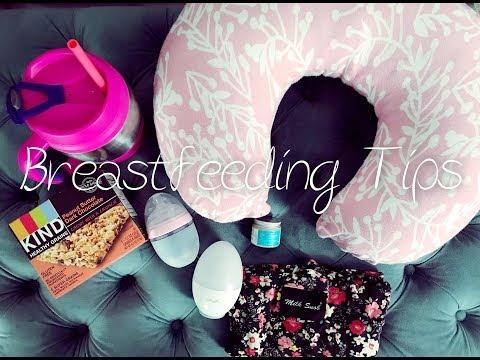 BREASTFEEDING TIPS & ESSENTIALS: Nursing & Pumping