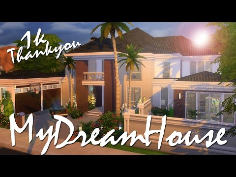 The Sims 4 | Speed Build: My Dream House - 1k Thank you!!! 💜