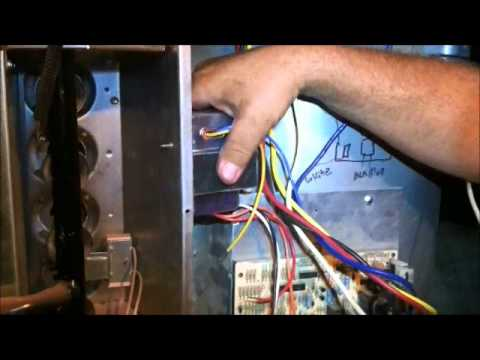 air conditioner transformer how to wire a transformer youtube rh youtube com Home Wiring House Wiring Schematic