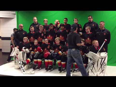 North Delta peewee A2 Sundemons photo day 2017