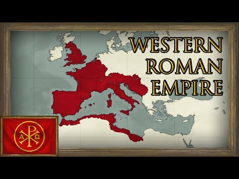 EU4 - Timelapse - Restoring the Western Roman Empire