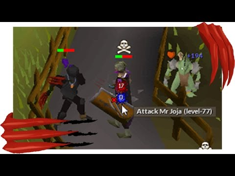 Pretending to be a Black Knight in PvP (Dragon Claws)