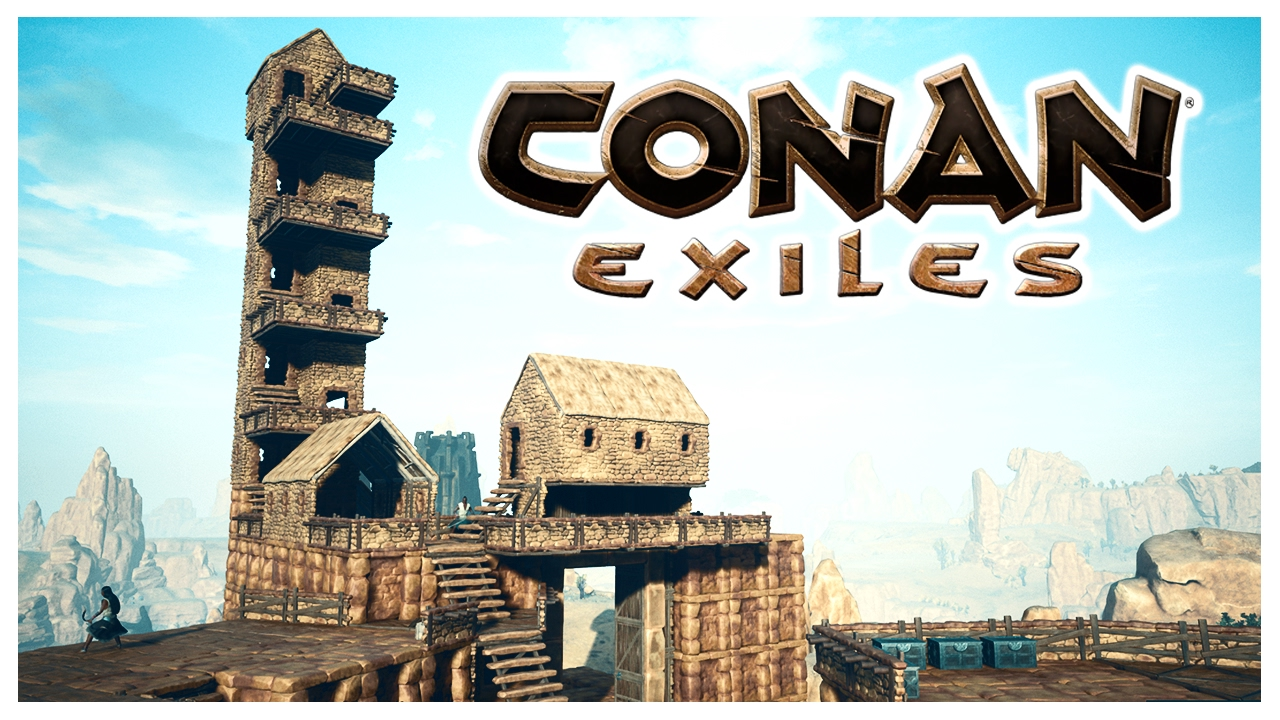 conan exiles watchtower youtube. Black Bedroom Furniture Sets. Home Design Ideas