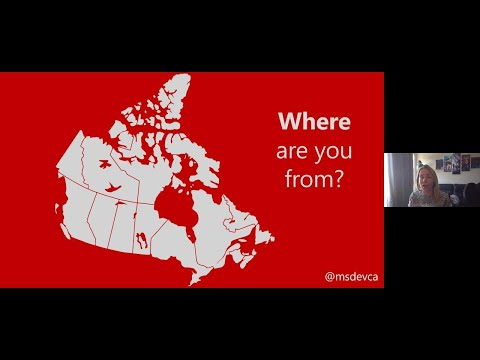 Connect With Microsoft Canada And Your Local Dev Community (English) | COM164