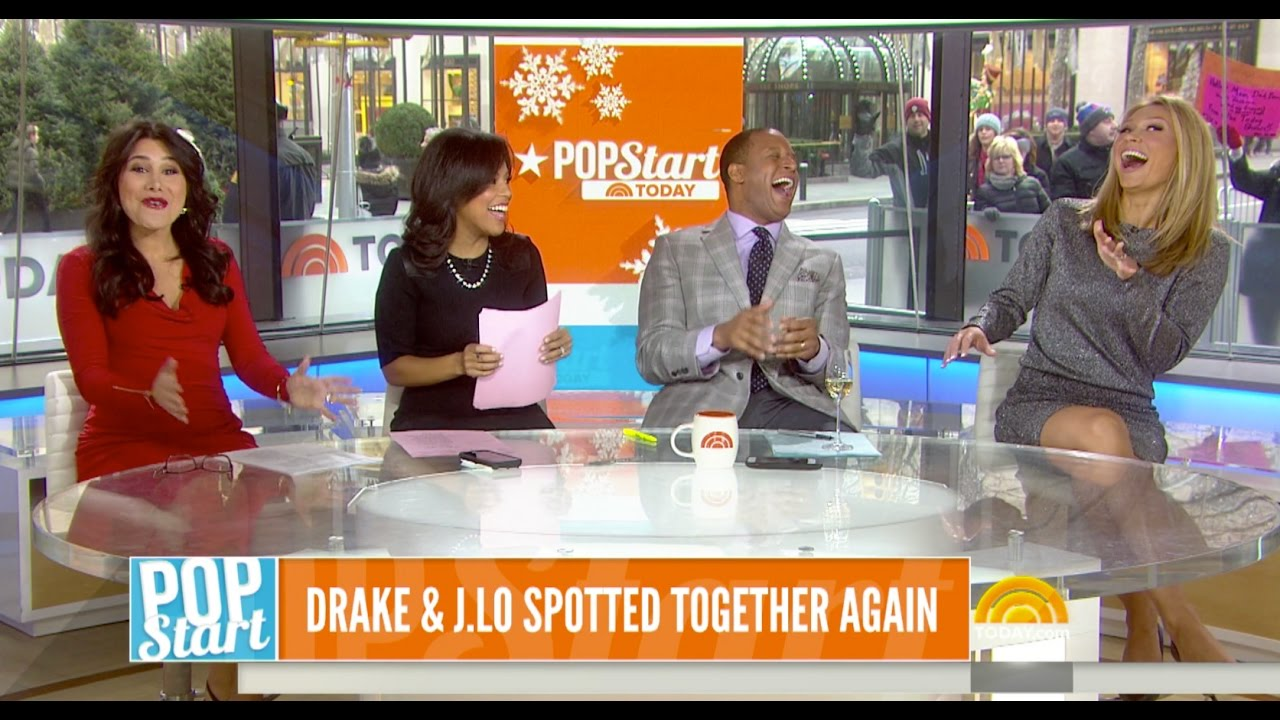 Indra Petersons Today Show NBC Pop News - YouTube