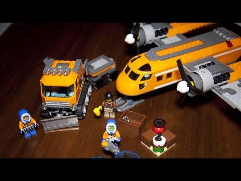Lego City 60064 Arctic Supply Plane Speed Build