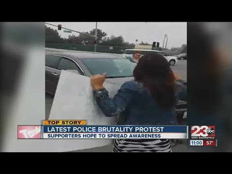Protesters block streets, want to spread awareness on police brutality