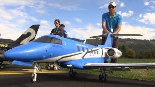 R/C Business-Jet Pilatus PC-24 by Arnold Meier in Hausen 2018