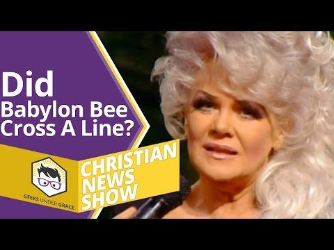 Did Babylon Bee Cross A Line? (Christian News Show)