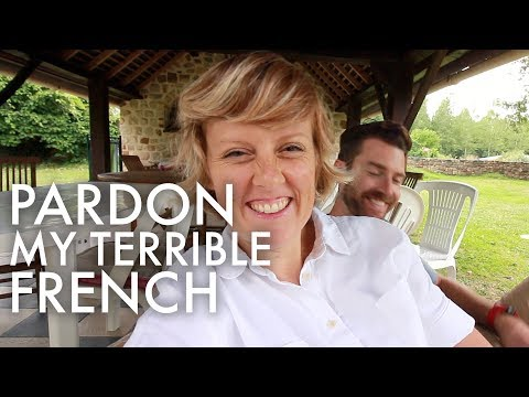 AMERICANS LEARNING FRENCH IN FRANCE : Traveling Full-time w/9 kids