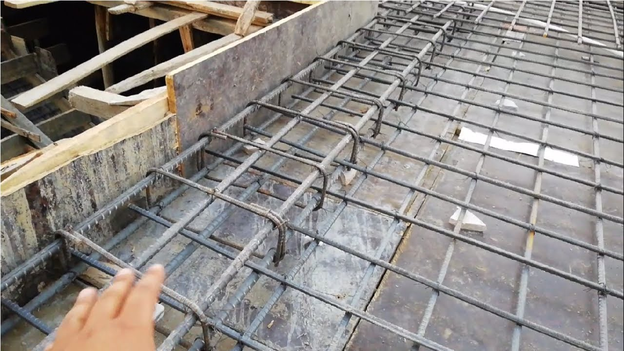 Concealed Beam In Rcc Roof Slab Youtube