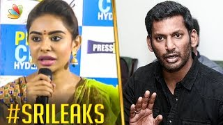 Vishal Threatened Sri Reddy ? | Sri Tamil Leaks, Casting Couch | Hot News