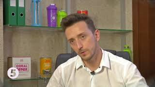 Coral Mine (Корал Майн) показатели ОВП. Отрывок ТВ передачи 5-го канала (Украина)