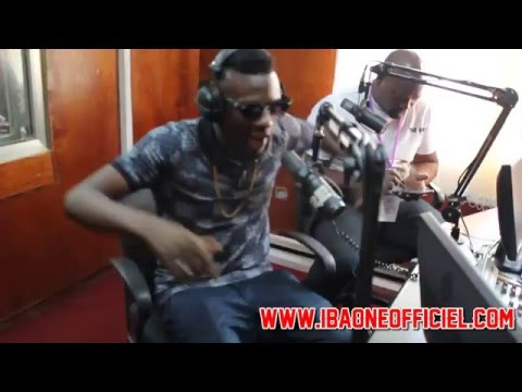 Iba One, Video freestyle à la radio (Conakry)