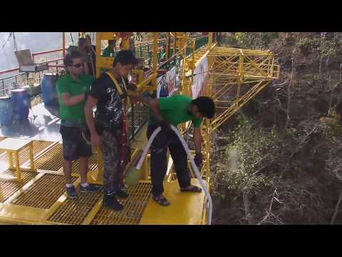 India Rishikesh jumping Heights 50000 bungy Jump: Dive to Die