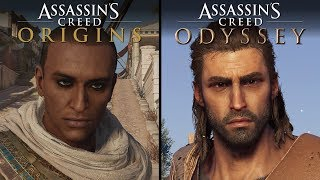 Assassin's Creed: Odyssey vs Assassin's Creed: Origins | Direct Comparison