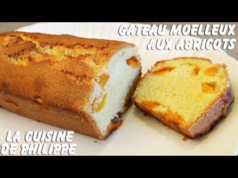 gâteau-moelleux-aux-abricots