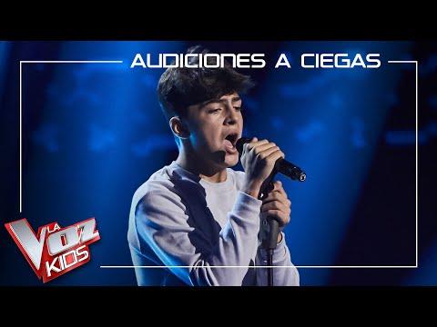 Adrián Belmonte canta 'Jealous' | Audiciones a ciegas | La Voz Kids Antena 3 2021