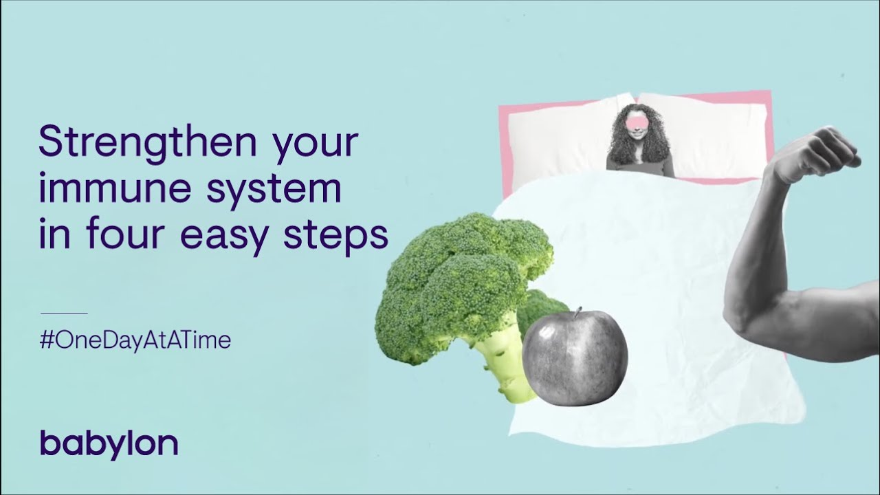 How to boost your immune system in four easy steps
