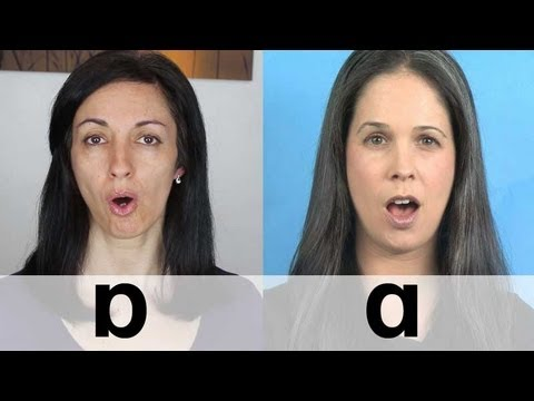 American vs. British English - Vowel Sounds - Pronunciation differences