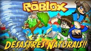 ROBLOX-Natural disasters