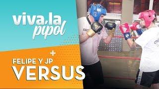 ¿Pelea del Siglo? Jean Philippe y Felipe se enfrentaron en ring de box - Viva La Pipol
