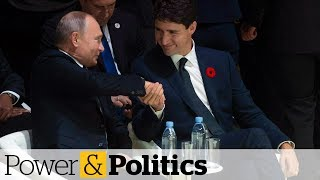 Trudeau speaks with Putin at Paris forum | Power & Politics