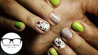 Реверсивный стемпинг | Дизайн ногтей гель лаком | Nancy Wave