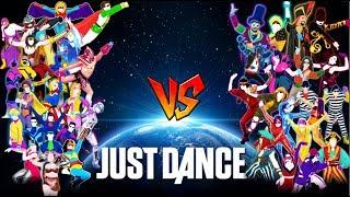 JUST DANCE TOPS: (Villains VS Superhero)