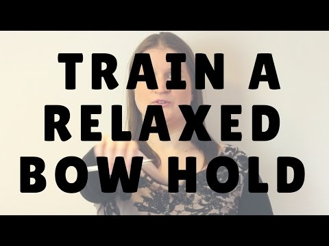How to Train a Relaxed Bow Hold | Violin Lounge TV #246