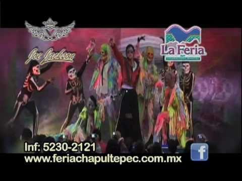 Imitador de Michael Jackson Joe Jackson en la Feria de Chapultepec Magico II