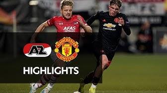 Highlights AZ - Manchester United | Europa League
